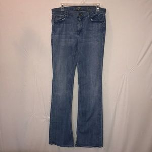 7 For All Mankind Light Demin Bootcut Jeans Sz. 31